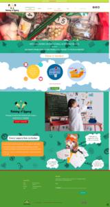 Screen shot of Raising a Legacy website