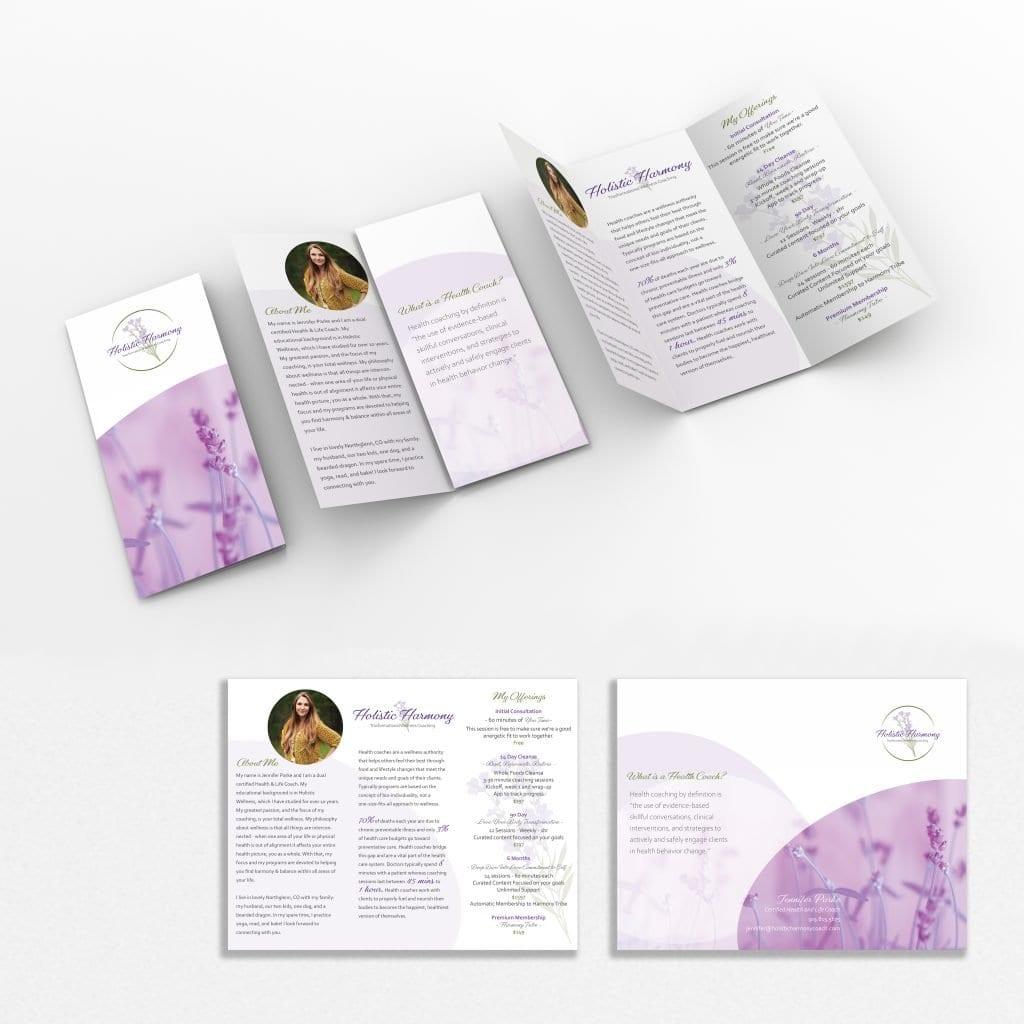holistic harmony brochure