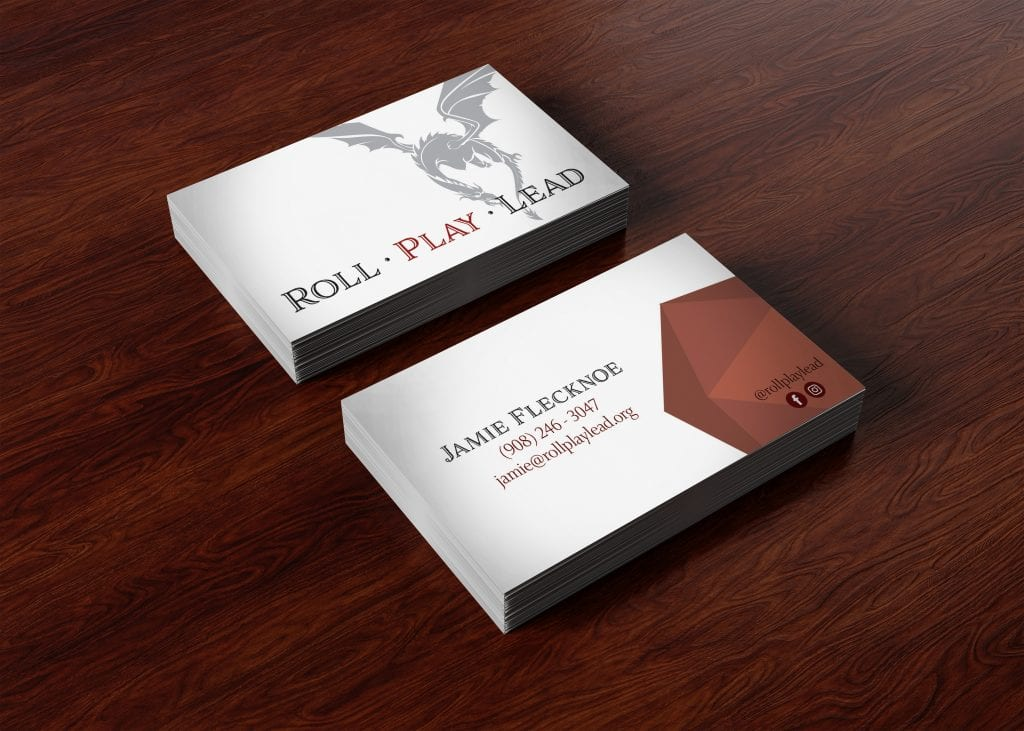 Business Card Mock Up